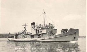 Hr.Ms. Paets van Troostwijk in the harbour of Toulon (1950)