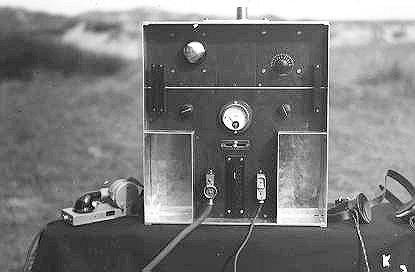 A test model of the ultra-short wave transceiver
