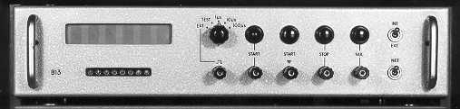 Time interval meter with transistors and digivisors (1962)