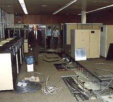 Een kleine 'aanpassing' in de computerruimte