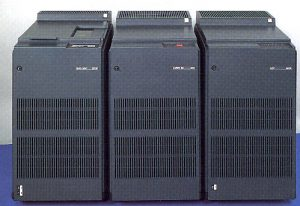 9730 - CYBER 930 integrated tape/disk subsystem is the left cabinet