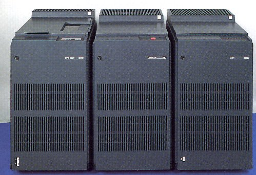 CYBER 930 CPU and disk/tape cabinets