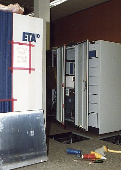 I/O unit and disk cabinet (right)