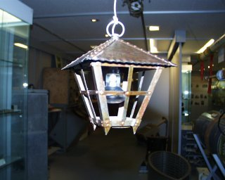 Lantern made of 'waste' (1941)