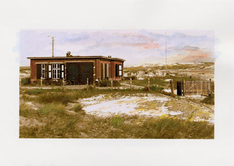 The Measurement Building in 1927 - painting by G. Mooij after an original photograph