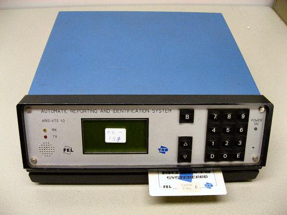 De door TNO-FEL gebouwde experimentele ARIS-eenheid (90's)