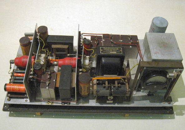 Power supply unit of the infrared river barrage (1939)