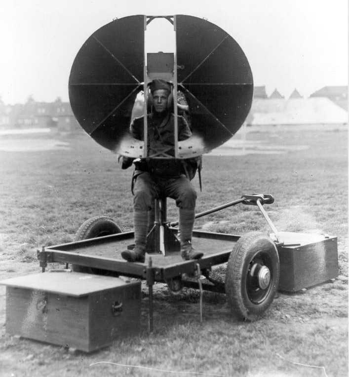 Experimental listening device Van Soest