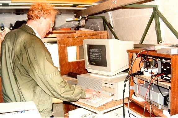 MUSP in gebruik in de meetwagen