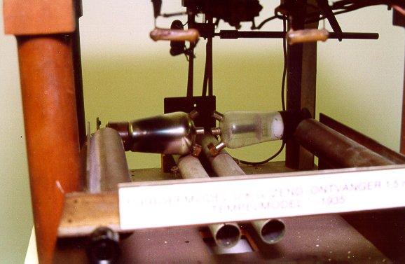 """Temple"" model transmitter (push-pull circuit)"