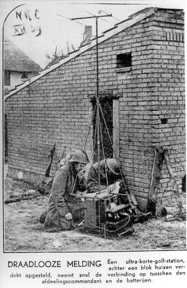 De NSF DR-42 in bedrijf tijdens een oefening (bron: NRC, december 1939)