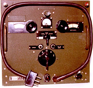 The front side of the NSF type DR-42