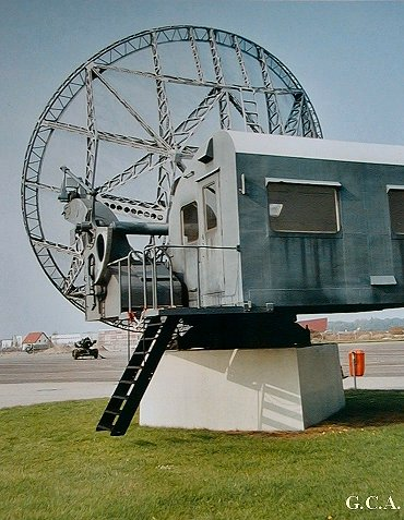 De Würtzburg-Riese antenne na de verhuizing naar Duitsland