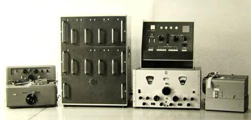 De PUNCHROPHYL met randapparaten (1960)