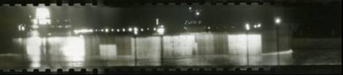 Infrared image of ships at Hoek van Holland; December 10, 1963