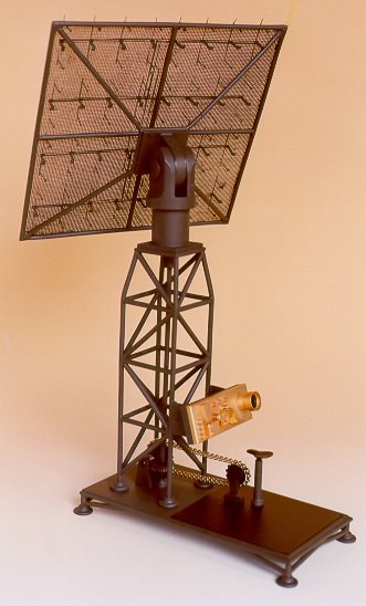 Model Dutch radar (late 1939)