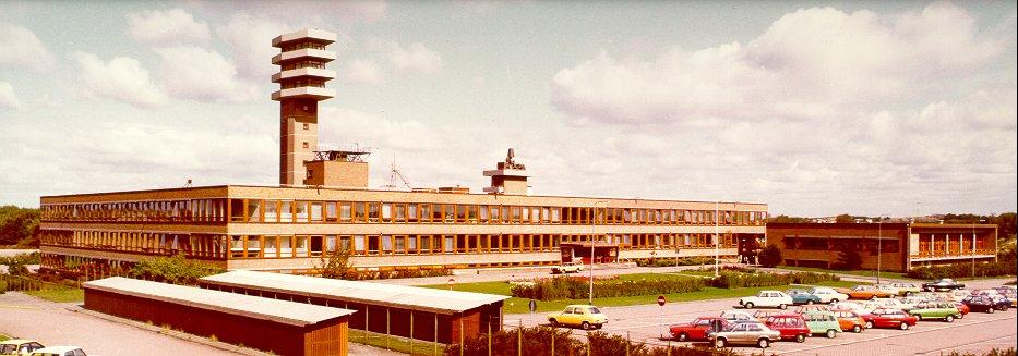 Het nieuwe TNO gebouw in 1969