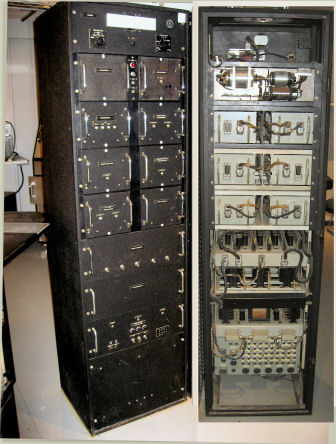 Interface between the radar system and a number of Teletrack screens (1963)