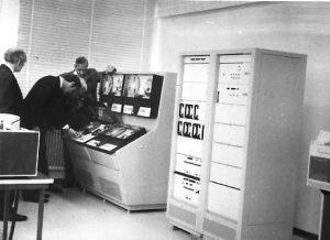Ferranti 1600B computer bij de overdracht