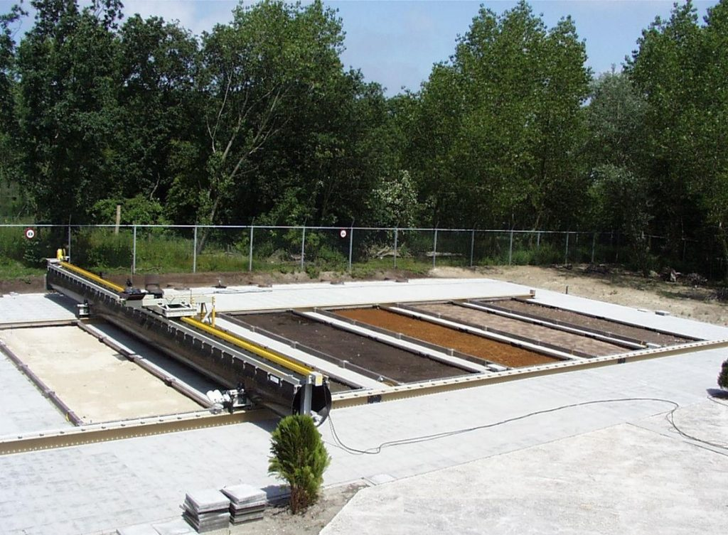 Landmine detection test facility