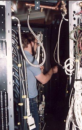 Cyber74 - installatie van de Christmas tree