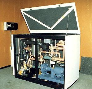 CYBER 840A wisselaar primaire en secundaire koeling
