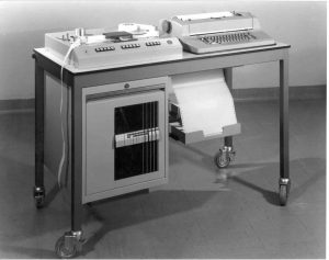 PLUTO: The recorded message traffic was printed on paper with the typewriter (improved SCRIBOPHYL)