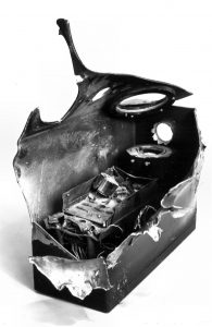 In July 1979, one of the end velocity detectors was hit in Petten by a 25 mm projectile
