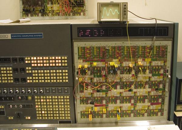 EAI 680 series system [courtesy Computermuseum UvA, Netherlands]