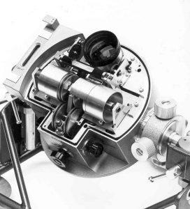 Geopende fotocelkop