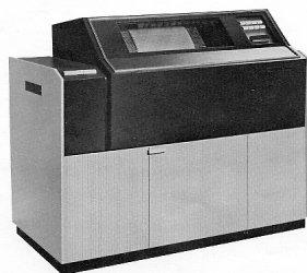 CDC 580-1200 line printer