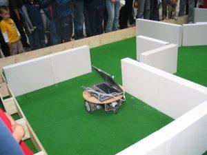 Een robot in actie