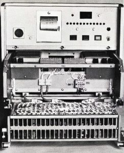 MEINOPA II system (1980): processing cabinet