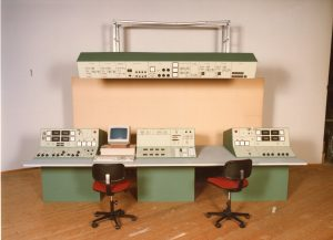 Mock-up of the main control console