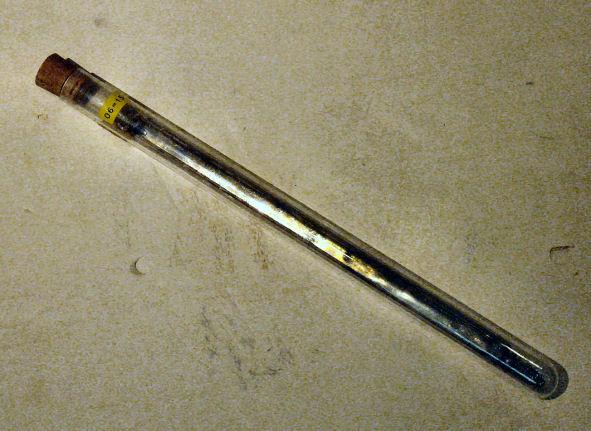 InSb opgetrokken kristal