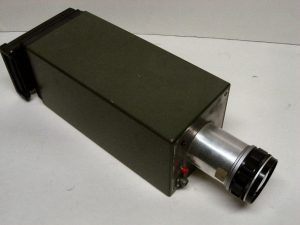 This prototype camera with an 18 mm image converter has successfully recorded photographs on film of projectiles in flight in full daylight.