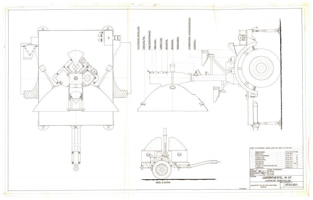 Listening device construction drawing