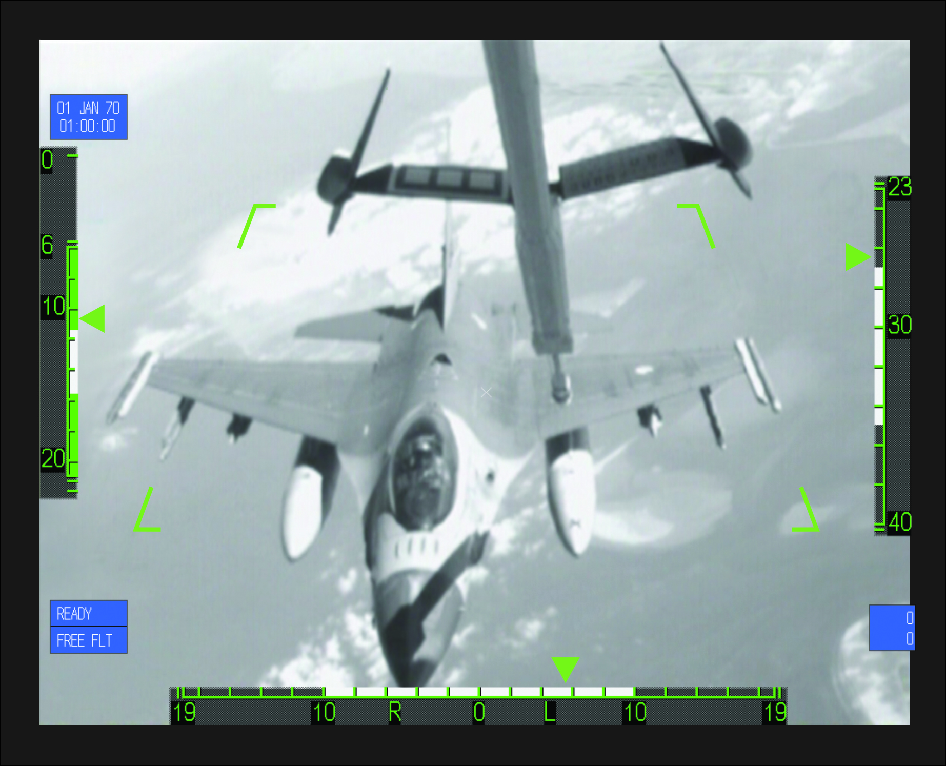 Screenshot KDC-10 refuelling using TVRS