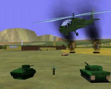The ITEC'94 battlefield (stealth viewer)