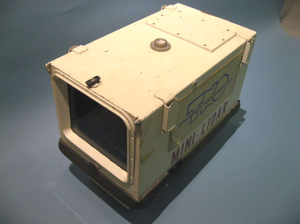 TNO's mini-lidar (1982)