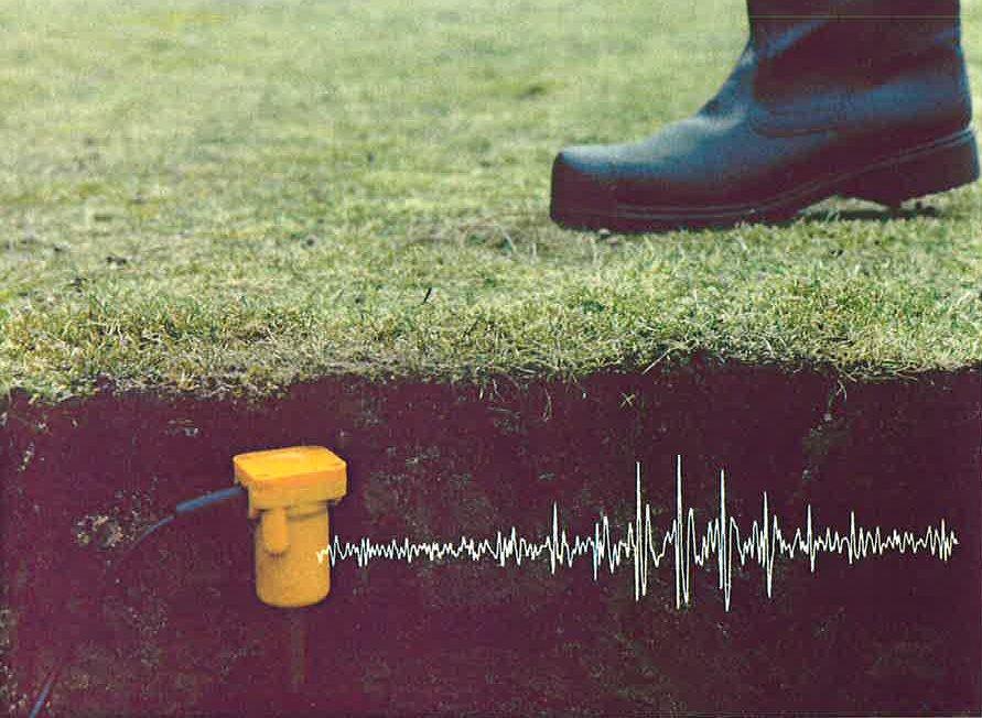 Footfall detector