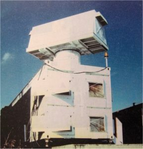 DART-radar at its cabine at the De Peel