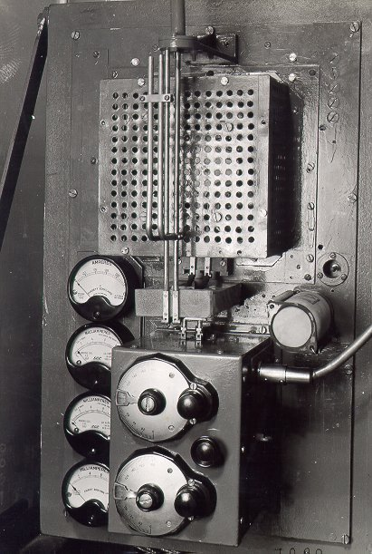 The fire-control radar transmitter