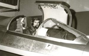 Cockpit of the OFTT Lockheed F-104G Starfighter (source: Beeldbank van het Nederlands Instituut voor Militaire Historie (NIMH)