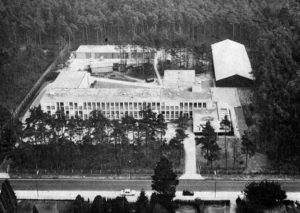 Aerial view of TNO Soesterberg