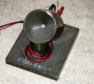 Detector om het Optisch SnelheidsMeetapparaat (OSM 4-01) klaar te zetten om te meten