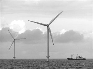Power windmills at sea. Photo: A. Borst (TNO)