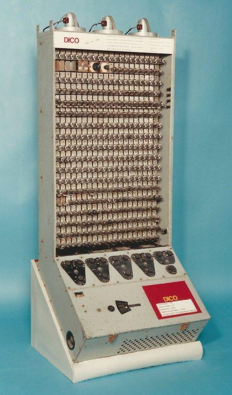 Diepterekenapparaat (DICO), 1952
