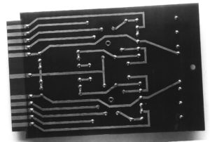 First flip-flop printed circuit board