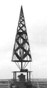 Speciale antenne voor de panorama-ontvanger